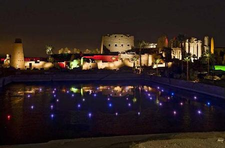 Luxor Sound and Light Show at Karnak Temple