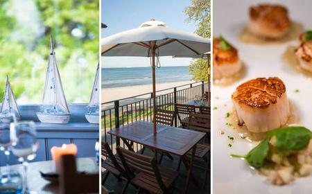 Isle of Wight Day Trip & 3-Course Restaurant Meal for 2