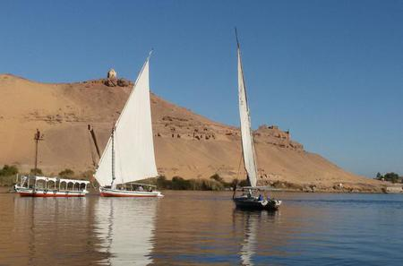 Tour to the Tombs of the Nobles in Aswan