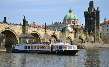 Prague: 2-Hour Night River Cruise w/ Dinner