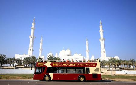 Big Bus Abu Dhabi Hop-On, Hop-Off Tour, Dhow Cruise & much more