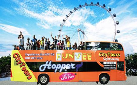 Singapore FunVee Hop-On, Hop-Off Tour