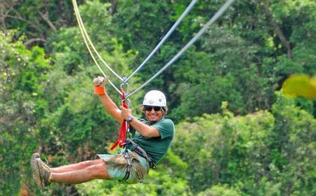 Puerto Rico Half-Day Zipline Adventure from San Juan