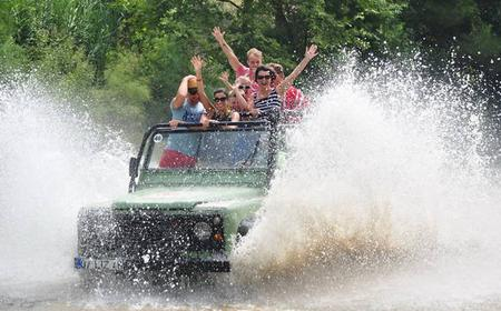 Turkish Riviera: Full-Day Off Road and Rafting Tour