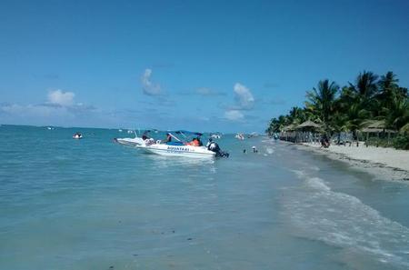 Day Trip to Praia dos Carneiros from Boa Viagem, Pina or Piedade