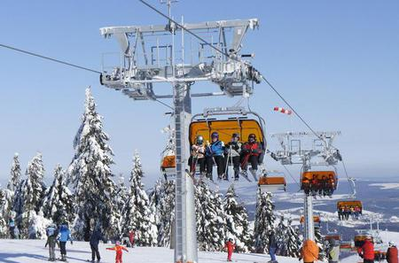 Full-Day Skiing on Klínovec Tour from Praque