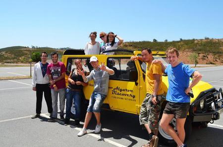 Jeep Trip Algarve Coast from Portimao