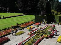 Butchart Gardens Half Day Tour with Return Transportation