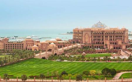 Abu Dhabi: City Tour & Ferrari World Ticket