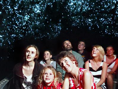 Waitomo Glowworm Caves Guided Tour with Glowworm Grotto Boat Ride