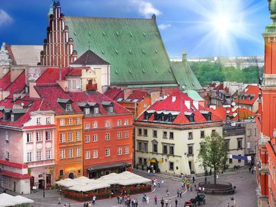 3-hour Private Walking Tour of Warsaw with the Royal Castle