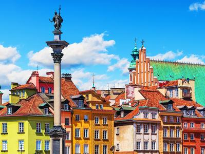 3-hour Private Tour of Warsaw with Royal Castle and Drive along the Royal Route