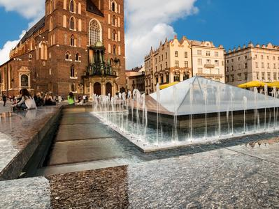 City Tour of Cracow from Warsaw