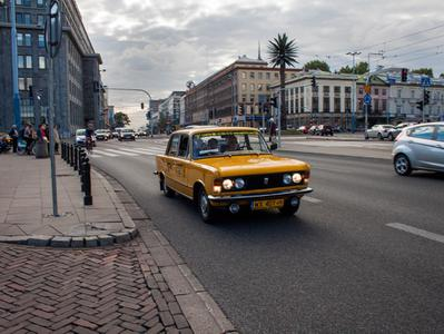 Communist Warsaw Private Tour in a Retro Fiat with Lunch