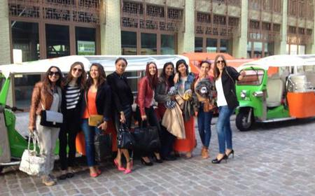 Amsterdam: Tuk Tuk Tour with Cheese and Wine Tasting