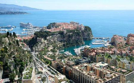 Panoramic Coach Day Tour to Eze and Monaco from Nice