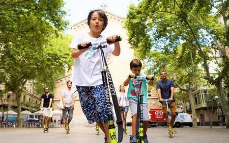 Barcelona: Private Scooter Tour of Gracia Neighborhood