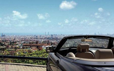 Barcelona 4-Hour Private Tour by Cool Convertible Car