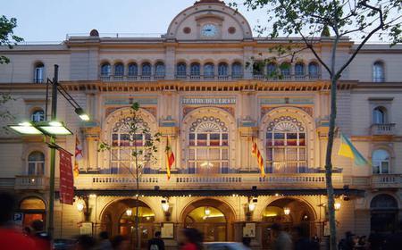 Barcelona: Liceu Opera Backstage Tour