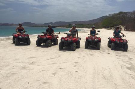 ATV Mountain and Beach Tour from Flamingo Beach