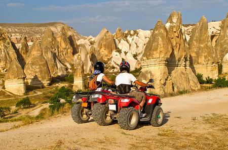 2 Hour ATV Tours around Goreme and Surrounding Valleys