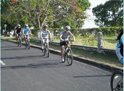 Oualie Beach: 3-Hour St. Kitts & Nevis Hike & Bike Tour