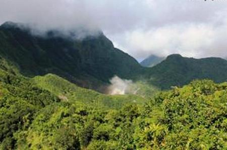 Morne Trois Pitons National Park Hiking Tour to Boiling Lake