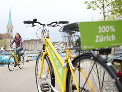 Z&uumlrich City Tour by Bike with Old Town Visit