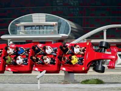 Ferrari World Abu Dhabi or Yas Waterworld Tour