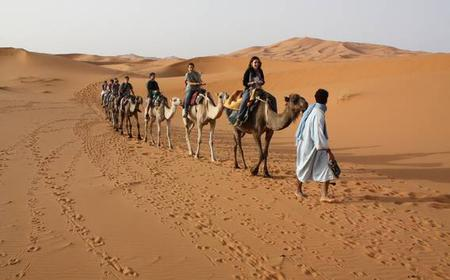 Fes to Marrakech: 4-Day Sightseeing and Camel Trekking Tour