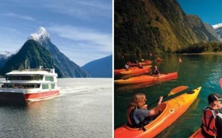 Cruise & Kayak Milford Sound