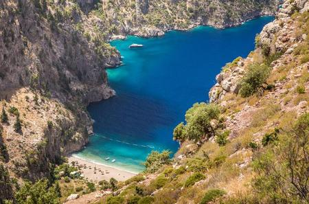 Boat trip from Oludeniz Blue Lagoon to Butterfly Valley and St Nicholas island with lunch