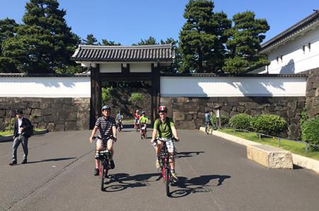 Tokyo Biking Tour by Electric-Powered Bike
