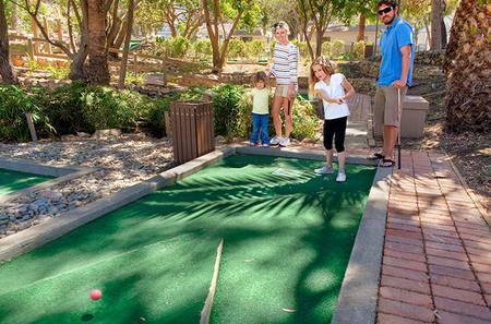 Catalina Island Golf Gardens - Miniature Golf