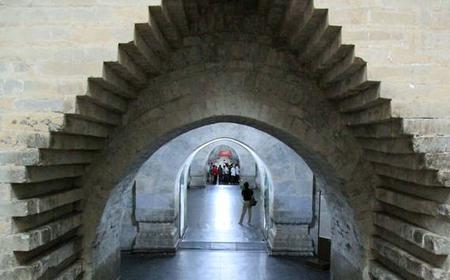 Underground Palace and Mutianyu Great Wall Bus Tour
