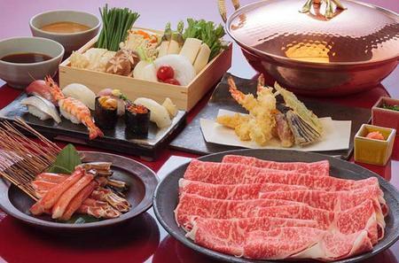 Oiran Show with Kobe Beef Shabu-Shabu Dinner in Roppongi