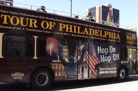 Philadelphia 27-Stop Double Decker Tour Full-Day Pass
