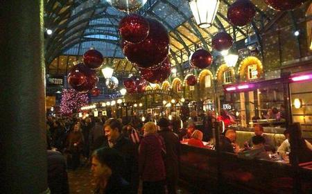London: Christmas Lights and Markets Tour with a Local