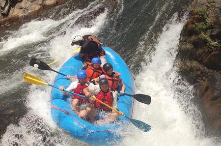 White Water Rafting Adventure in the Tenorio River from Tamarindo