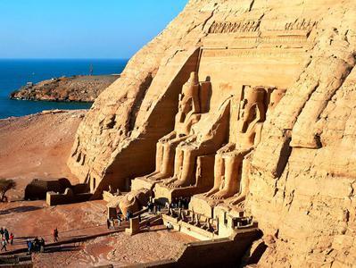 Abu Simbel by Air
