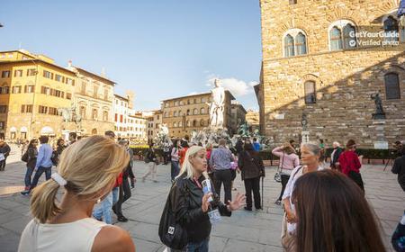 Piazza Signoria, Palazzo Vecchio and Loggia dei Lanzi Tour