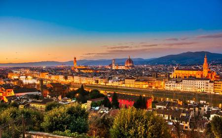 Florence: Electric Bike Night Tour with Gelato