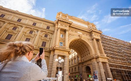 Florence: Uffizi Gallery Ticket and 4-Hour Walking Tour