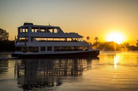 Sunset Cruise on the Zambezi River