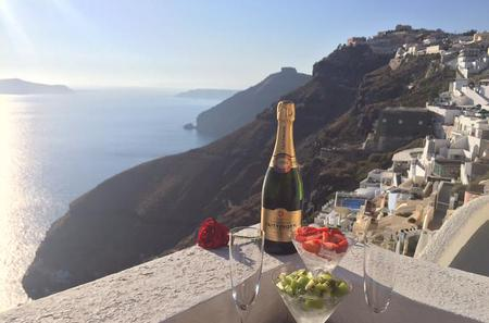 Santorini Sunset Champagne Experience