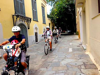 Classic Athens Guided Tour by Electric Bike