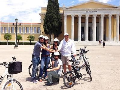 Athens Electric Bike Tour with Audio Guide