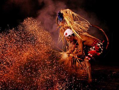 Bali Sanghyang Kecak Fire Trance and Monkey Dances Tour