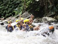 White Water Rafting in Bali with Gourmet Lunch
