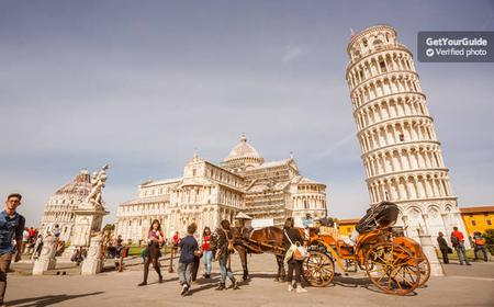 From Florence: Pisa Day Tour with Leaning Tower of Pisa